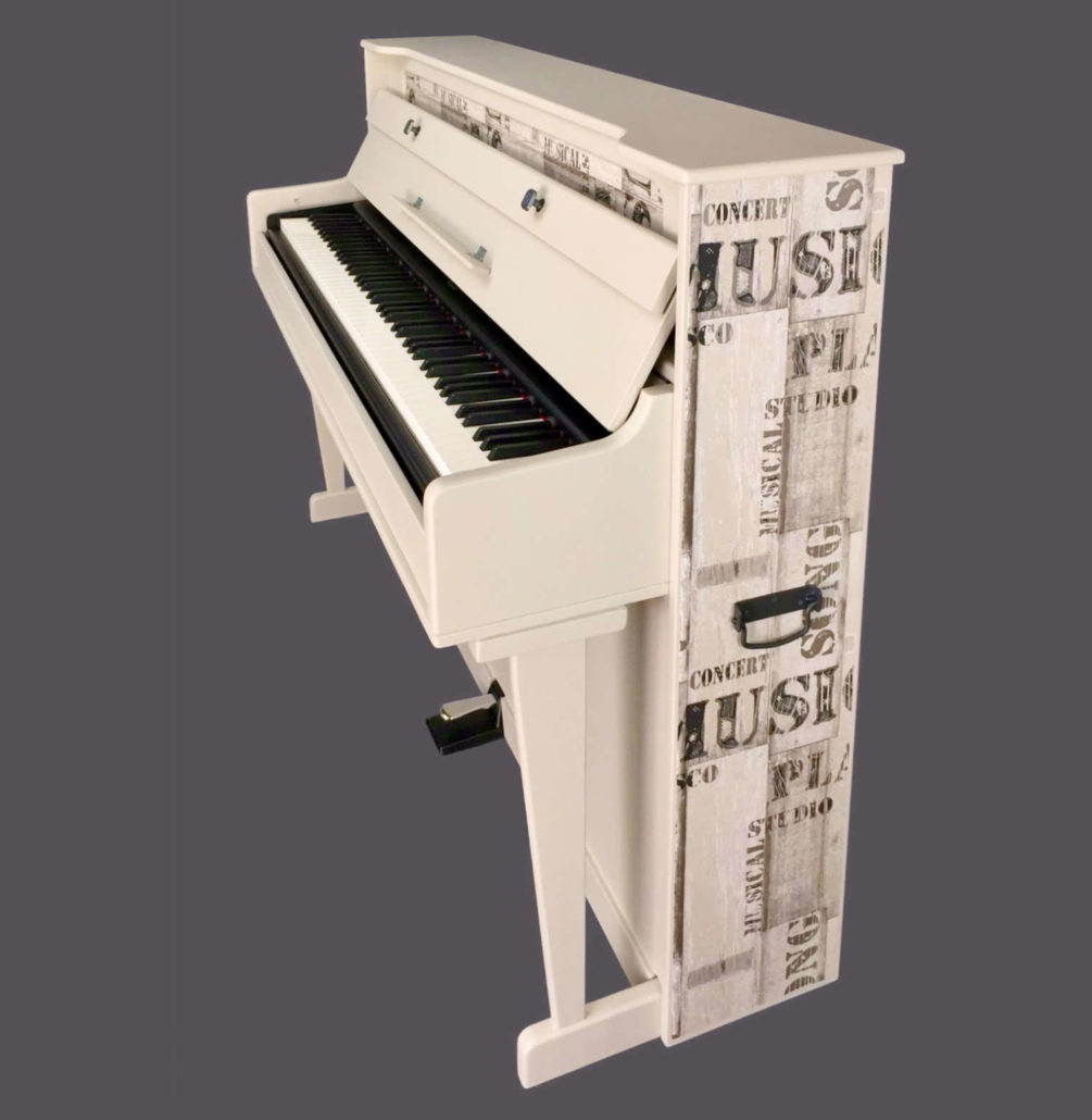 Piano Vertical Portátil